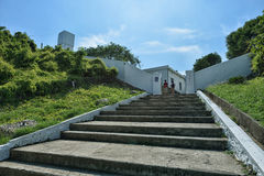 Entrance of Lighthouse in Kaohsiung Stock Photos