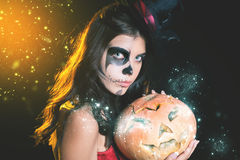Entrance is limited to nightclub, dress code. Halloween party 2016! Stock Photography
