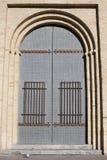 Entrance of Lonja, old building in zaragoza Stock Image