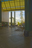 Entrance of The Los Angeles County Museum of Art Stock Photos