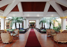 Entrance Lounge Royalty Free Stock Photo