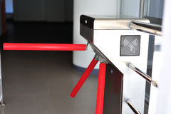 Entrance machine in soft light Stock Image