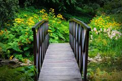 Entrance into magical botanical garden.