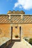 Entrance of the magnificent Castle of Buen Amor in Topas, Salamanca, Spain Stock Photos
