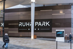Entrance mall Ruhr Park in Bochum Royalty Free Stock Photography