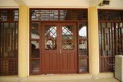Entrance of Masjid Jubli Perak Sultan Ismail Petra a.k.a. Masjid Beijing Stock Image