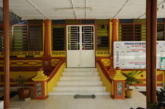 Entrance of Masjid Kariah Dato' Undang Kamat, Johol, Negeri Sembilan Stock Photo
