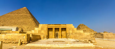 The entrance of the mastaba of Seshemnufer IV in Giza Royalty Free Stock Images