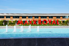 The Entrance of Maxx Royal luxury hotel Royalty Free Stock Photography