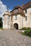 Entrance in medieval castle. Royalty Free Stock Photos