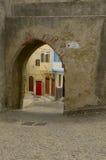 Entrance Medina Royaltyfria Bilder