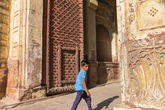 The entrance of the Mehrangarh Fort Stock Photos