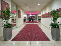 People entrance Mercure Hotel in Manchester Royalty Free Stock Photos