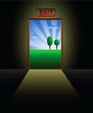 Entrance metaphor Stock Photo