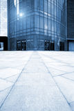 Entrance of the modern building Royalty Free Stock Photography