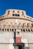 Entrance in museum of Castel Sant Angelo in Rome Royalty Free Stock Photography