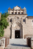 Entrance in museum  Santa Cruz in Toledo, Spain Royalty Free Stock Photo