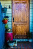 Entrance of my country house royalty free stock images