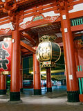 Entrance Of Japanese Temple Stock Image