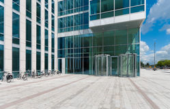 Entrance of an office building Stock Images