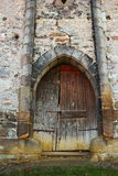 Entrance of old abandoned castle Royalty Free Stock Photography