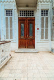Entrance of old house Royalty Free Stock Photography