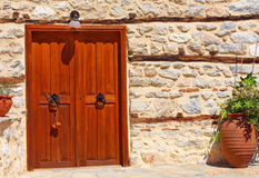 Entrance of an old house Royalty Free Stock Photography