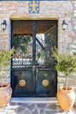 The entrance of old orthodox church in old town of Xanthi, East Macedonia and Thrace Stock Photo