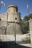 Entrance Orsini castle in Nerola Royalty Free Stock Photo