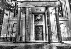 Entrance of the Orthodox Church Stock Photography