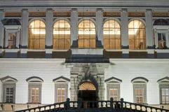 Entrance of Palazzo Farnese in Caprarola, Italy Stock Image