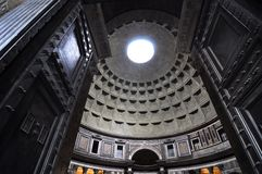 Entrance of Pantheon Stock Image
