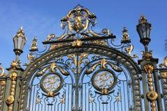 Entrance of the Parc de la Tête d'Or Stock Images