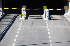 Entrance parking garage. At Munich, germany royalty free stock photography