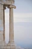 Entrance in the Parthenon Stock Photos