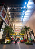 Entrance of Pavilion mall, Kuala Lumpur. KUALA LUMPUR - JUNE 16, 2017: Entrance into Pavilion mall situated in the Bukit Bintang district which is the shopping Stock Photos