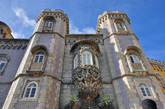 Entrance of Pena palace Stock Images