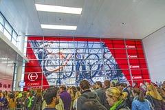 Entrance of the Photokina - World stock photo