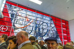 Entrance of the Photokina - World Stock Photos