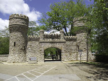 Entrance Point Park. Entrance to Point Park on Lookout Mountain Royalty Free Stock Photo