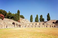 Entrance of Pompeii Royalty Free Stock Photos