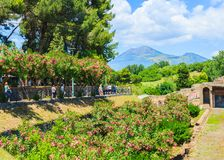 Entrance of Pompeii, Italy Royalty Free Stock Images