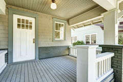 Free Entrance Porch With White Door Royalty Free Stock Photo - 44300045