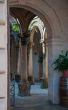 Entrance Pueblo Espanol Royalty Free Stock Photo