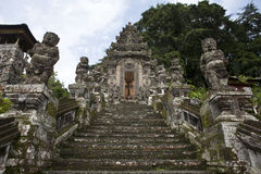 Entrance of the Pura Kehen temple in Bali, Indonesia Stock Image