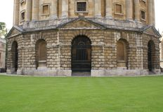 The entrance of Radcliffe Camera in Oxford, England Royalty Free Stock Photos