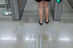 Entrance of railway station for cripple.  Stock Photos