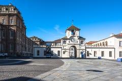 The entrance of the Reggia di Venaria, Turin, Italy Stock Photography
