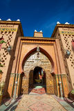 Entrance of a Riad in Morocco Royalty Free Stock Photography