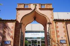 The entrance of Ringling Museum Sarasota Stock Photos